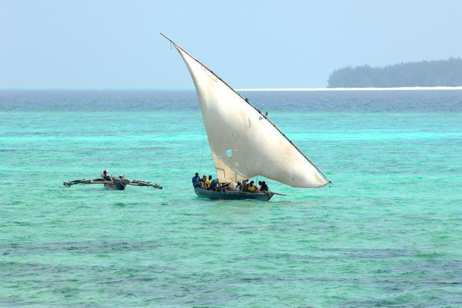 balade en mer Zanzibar