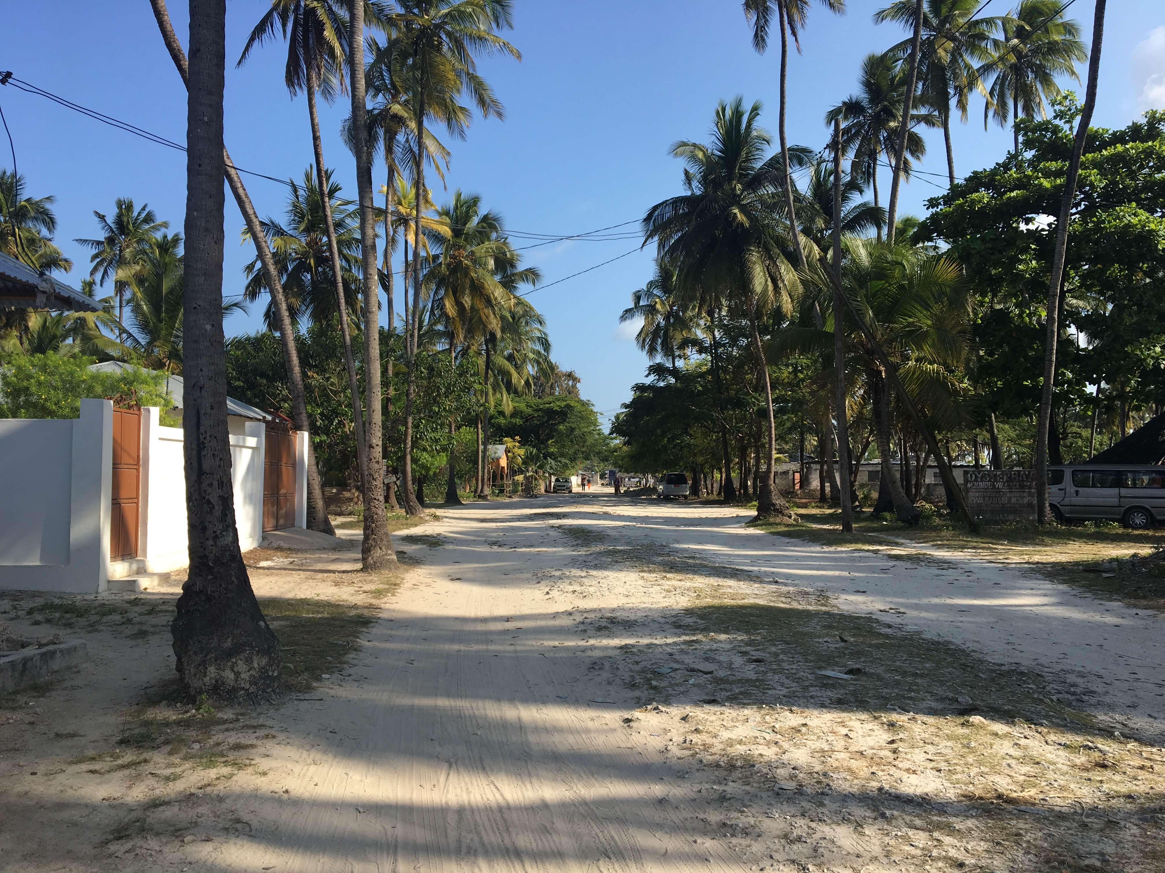 village Jambiani Zanzibar