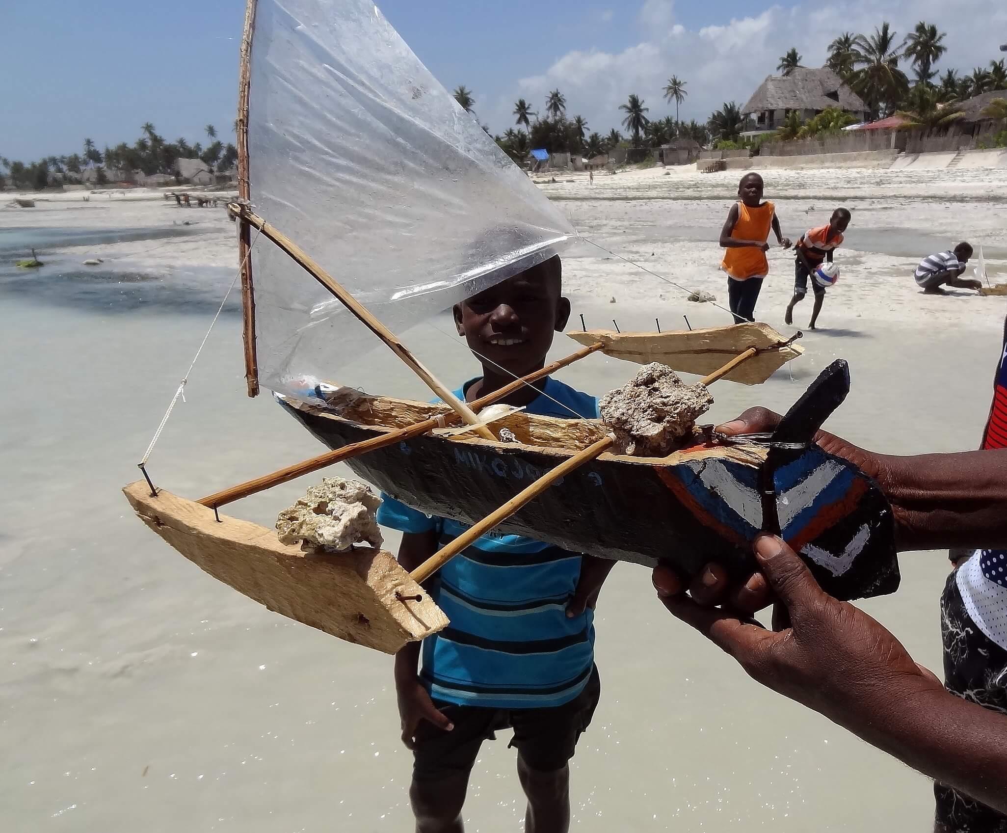 course de bateaux Jambiani Zanzibar