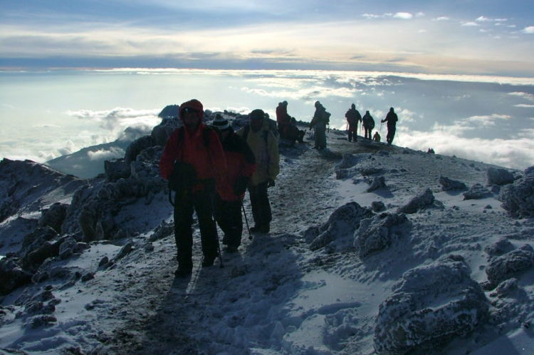 Höchster Berg in Afrika