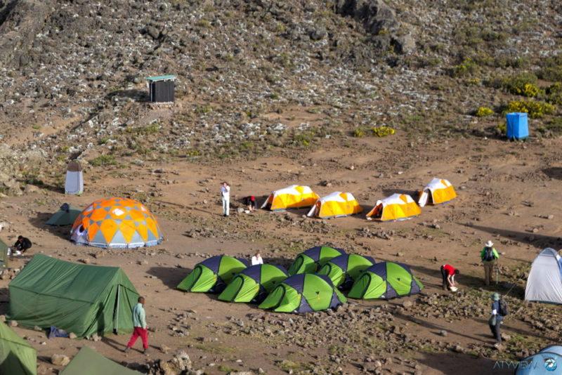 Trekking am Kilimandscharo