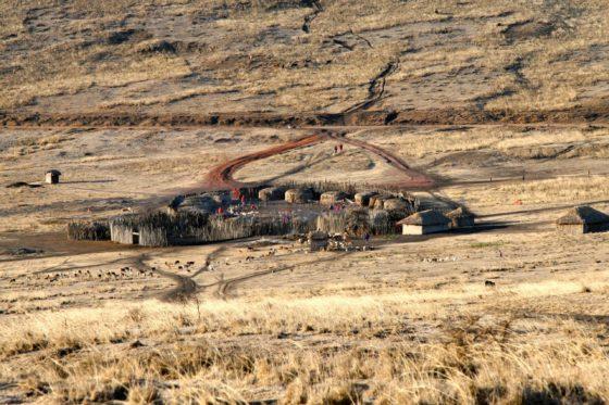 Besuch Masai Dorf Tansania